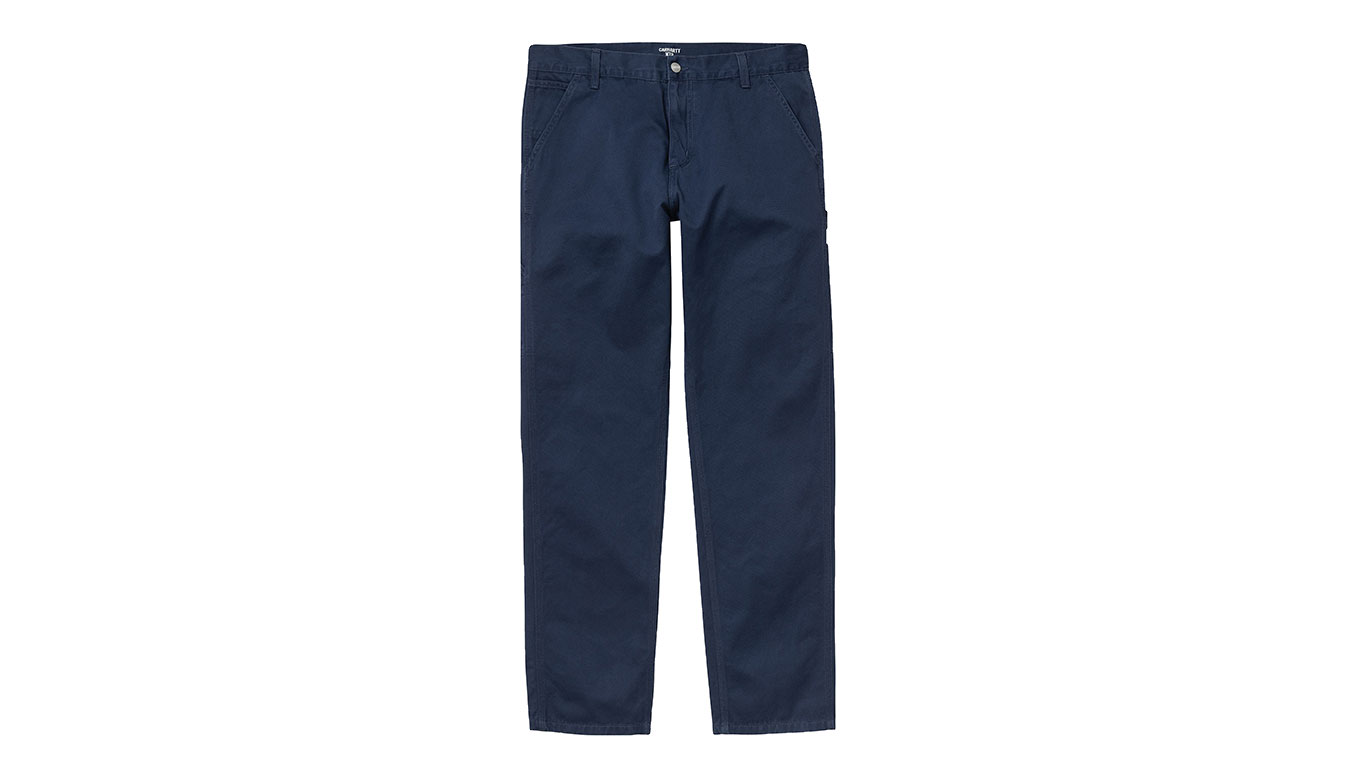 Carhartt WIP Ruck Single Knee Pant / Space modré I024891_0AG_06