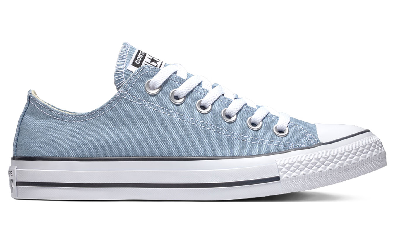 9eb144ef887 Converse Chuck Taylor All Star Classic Low Top Washed Denim tyrkysové  C162116