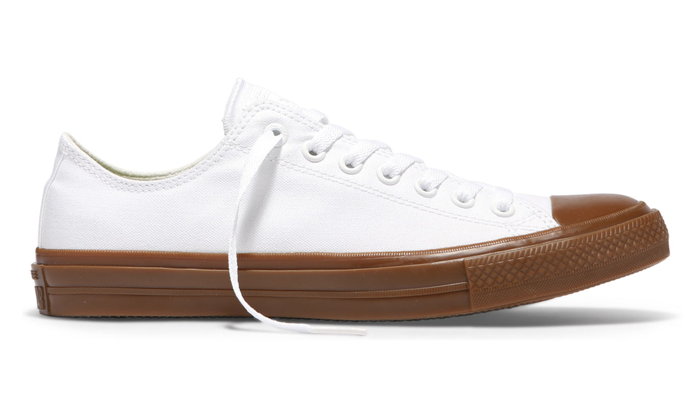 6f191c7eaaa Converse Chuck Taylor All Star II Gum Low Top White bílé C155502