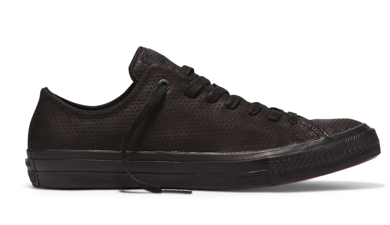 Converse Chuck Taylor All Star II Lux Leather Black černé C155765