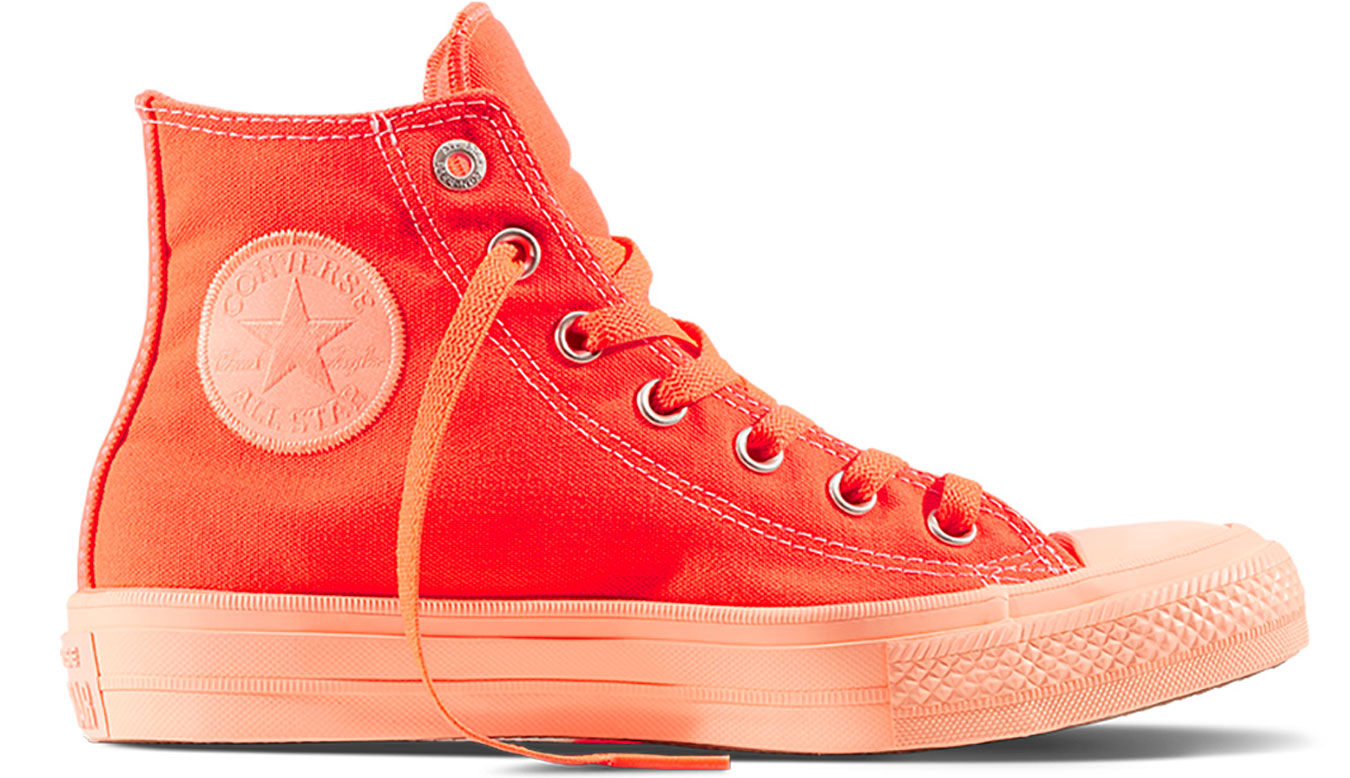 Converse Chuck Taylor All Star II Pastels Hyper Orange červené C155724