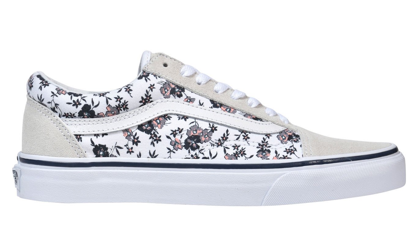 3dc949671b4 Vans Old Skool Ditsy Bloom True White VA38G1OMA