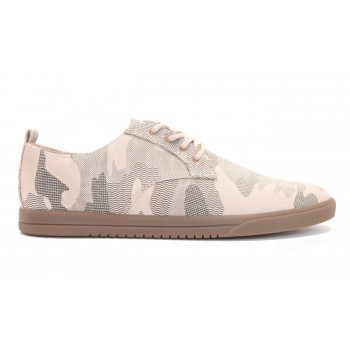 Clae Ellington Textile Tan Camo Canvas