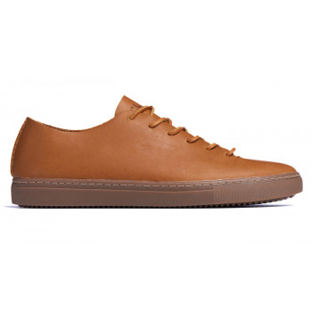 Clae One Piece Curry Leather Tobacco