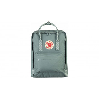 "Fjällräven Kånken Laptop 13"" Frost Green-Chess Patern"