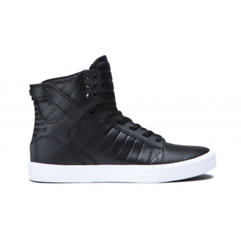Supra Skytop Black White