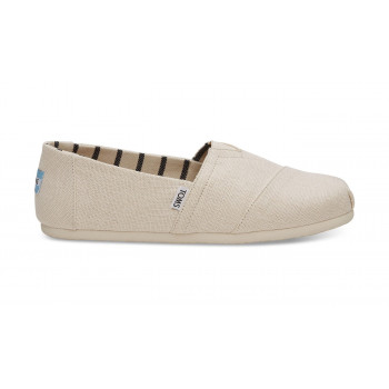 TOMS Antique White Heritage Canvas Alpargatas