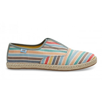 TOMS Palmera Multi Beach Stripe