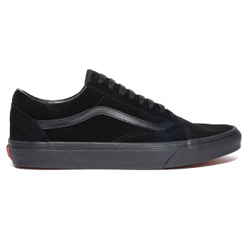 Vans Old Skool Suede Triple Black Leather