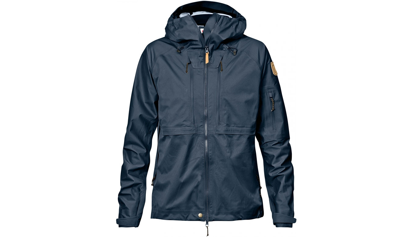 Fjällräven Keb Eco-Shell Jacket Dark Navy Women černé F89600-555
