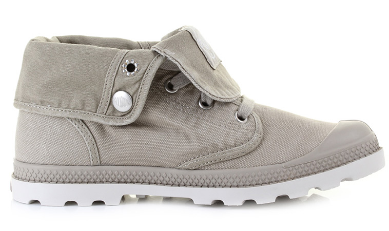 Palladium Boots Baggy Low Silver W