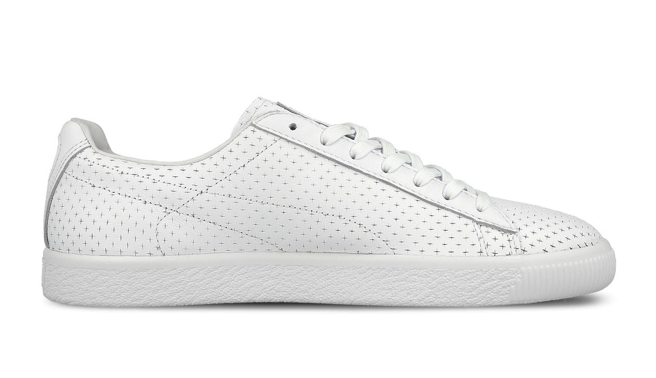 Puma x Trapstar Clyde Perforated bílé 364714-03