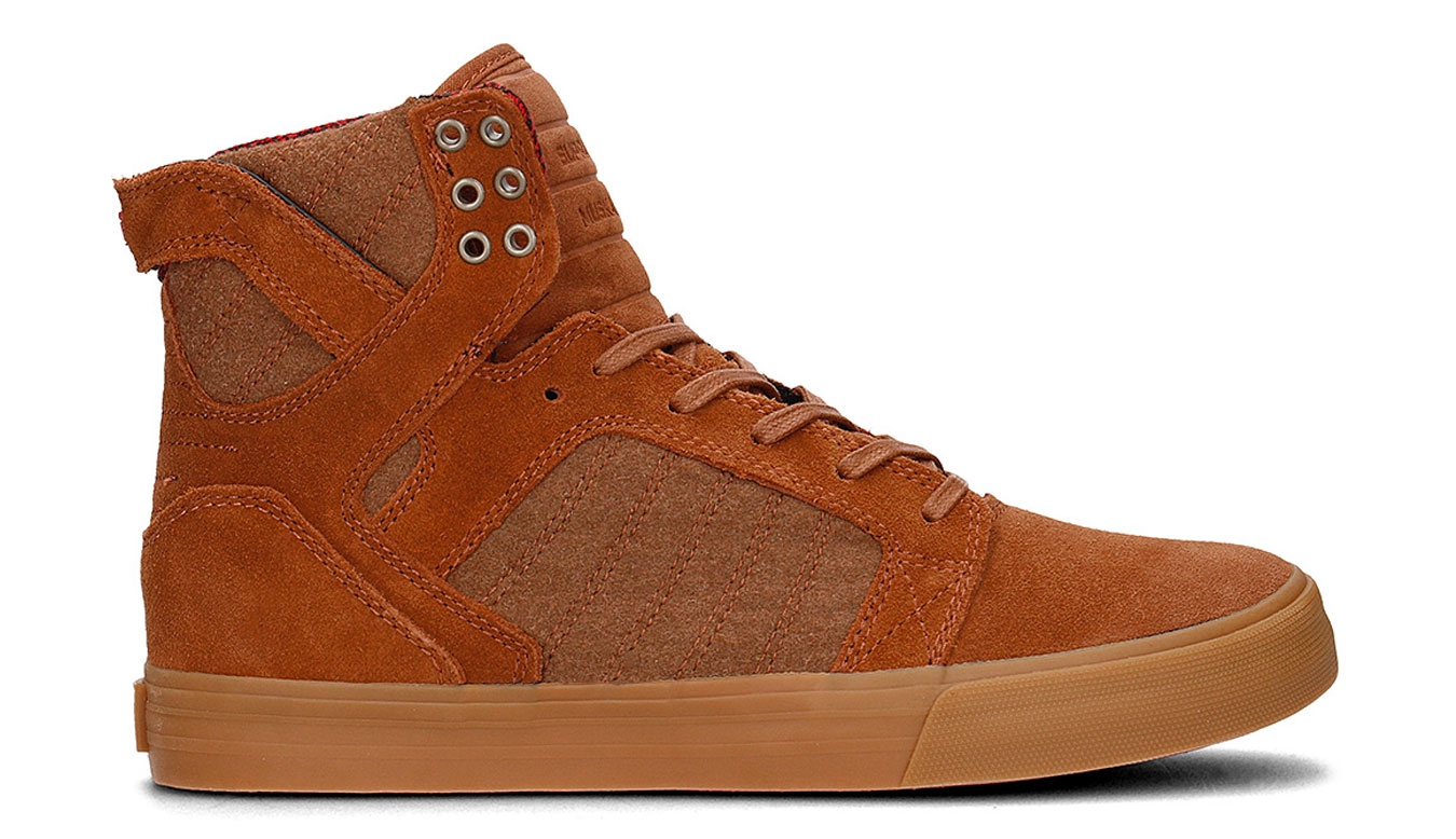 Supra Skytop Brown Red Gum hnědé 08173-239 77c610fb1b