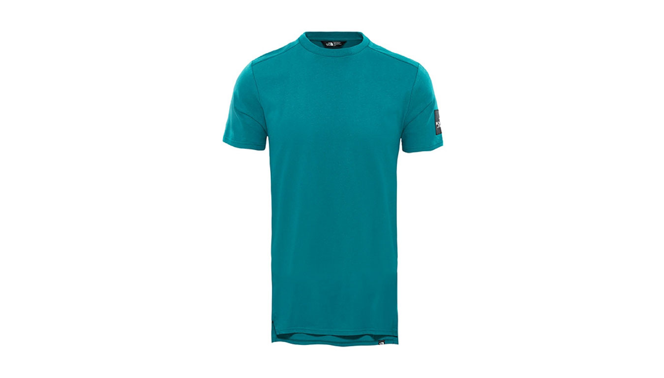 The North Face M S/S Fine 2 Tee Everglade zelené T93BP73YD