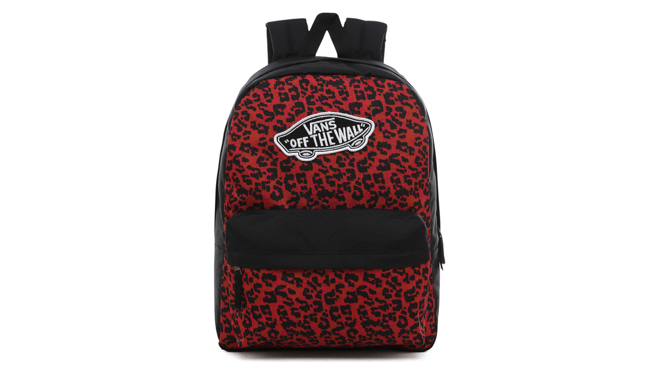 Vans Wm Realm Backpack červené VN0A3UI6UY1